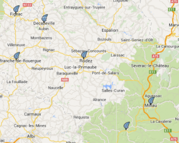 carte AUDIO aveyron